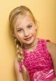 Schön wenig blond Stockfoto