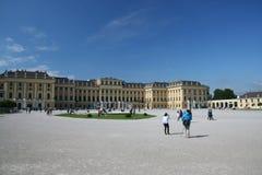 Schönbrunn Palace  front Royalty Free Stock Photos