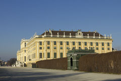 Schönbrunn Palace in Vienna Royalty Free Stock Images