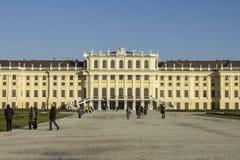 Schönbrunn Palace in Vienna Royalty Free Stock Photography