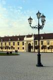 The schönbrunn Palace in Vienna. Stock Photo