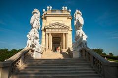 Schönbrunn-Palast, Wien, Österreich stockfotos