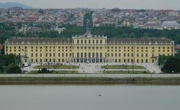 Schönbrunn slott, Wien, Österrike Royaltyfri Fotografi