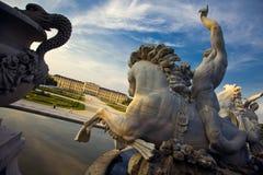 Schönbrunnkasteel, Wenen Stock Afbeeldingen