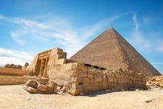 Schöne ägyptische Landschaft stockfotografie