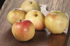 Schöne Äpfel Stockbild