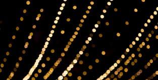 Schöne Überlagerung bokeh Lichtbeschaffenheit Stockfotografie