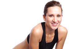 Schöne Übungsfrau Lizenzfreies Stockfoto