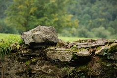 Schöne Abbildung von der irischen Landschaft Stockfotografie
