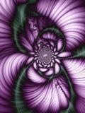 Schöne abstrakte Blume Stockbilder