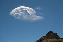 Schöne abstrakte Wolkenbildung Stockbilder