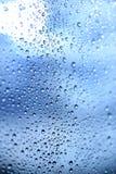 Schöne Abstraktion mit Wassertropfen Lizenzfreies Stockbild