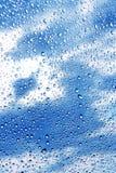 Schöne Abstraktion mit Wassertropfen Lizenzfreie Stockfotos