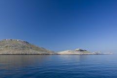 Schöne adriatisches Seinseln Stockbilder
