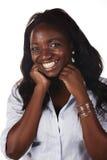 Schöne Afrikanerin stockbilder