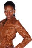 Schöne Afrikanerin stockfotos