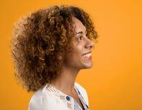 Schöne Afroamerikaner-Frau Stockfotos