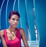 Schöne Afroamerikaner-Mode Lizenzfreie Stockbilder