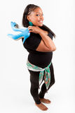 Schöne Afroamerikanerfrau Lizenzfreies Stockbild
