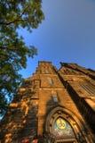 Schöne alte Basilika von St Peter und von Saint Paul, Vysehrad, Prag, Tschechische Republik Lizenzfreies Stockfoto