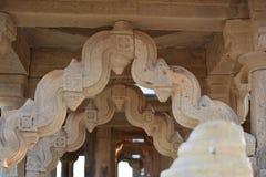 Schöne alte Ehrengrabmale von rawal Königen in bada baagh jaisalmer Rajasthan Indien Lizenzfreies Stockfoto
