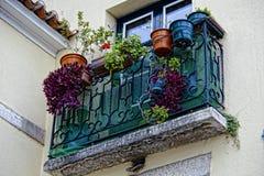 Schöne alte Fenster Stockfotografie