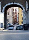 Schöne alte Fenster in Rom (Italien) Stadtansichten Lizenzfreies Stockbild