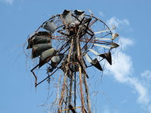 Schöne alte Windmühle 02 Stockbilder