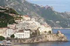 Schöne Amalfi-Küste Lizenzfreie Stockfotos