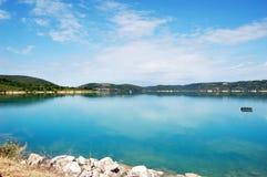 Schöne Ansicht über St.Croix See Lizenzfreie Stockfotos