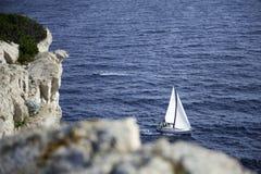 Schöne Ansicht in Cornati Kroatien Lizenzfreie Stockfotos