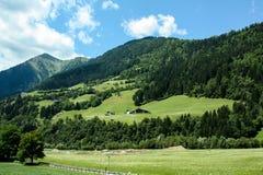 Schöne Ansicht der österreichischen Alpen Lizenzfreie Stockbilder