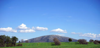 Schöne Ansicht der Berge von der Türkei Lizenzfreies Stockfoto