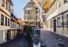 Schöne Ansicht der historischen Stadt lizenzfreie stockfotografie