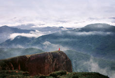 Schöne Ansicht des Berges Lizenzfreie Stockfotografie