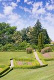 Schöne Ansicht des Parks Sofiyivka Uman, Ukraine stockfotos