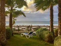 Schöne Ansicht des Praia de Chave stockfotos