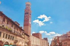 Schöne Ansicht - Lago di Garda lizenzfreies stockbild