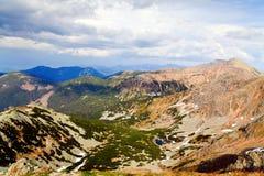 Schöne Ansicht in niedriges Tatras stockbild