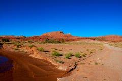 Schöne Ansicht von überraschenden Sandsteinformationen, Arizona, USA stockfotos