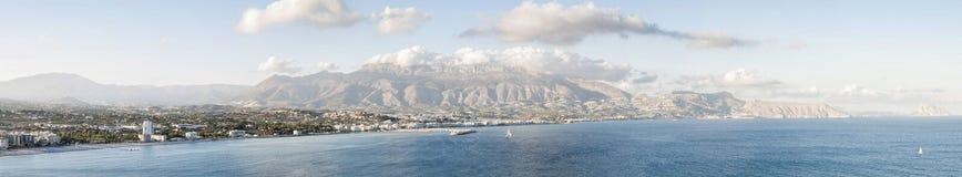 Schöne Ansicht von Altea, Spanien Lizenzfreie Stockbilder