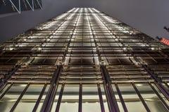 Schöne Ansicht von Cheung Kong Center lizenzfreie stockfotografie