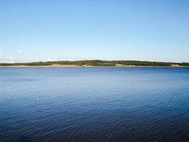 Schöne Ansicht von einem Fluss in Argentinien stockbild