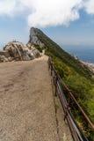 Schöne Ansicht von Gibraltar-Stadt Lizenzfreies Stockfoto