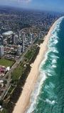 Schöne Ansicht von Gold Coast lizenzfreie stockbilder