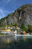 Schöne Ansicht von Komplex Bayin Nyi Begyinni in Hpa-An, Myanm Lizenzfreie Stockfotos