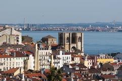 Schöne Ansicht von Lissabon Stockfotos