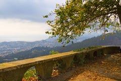 Schöne Ansicht von Madeira stockfotografie