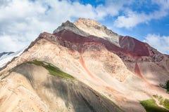 Schöne Ansicht von Pamir-Bergen Stockfotografie