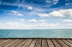 Schöne Ansicht von Plattensee Lizenzfreie Stockfotografie